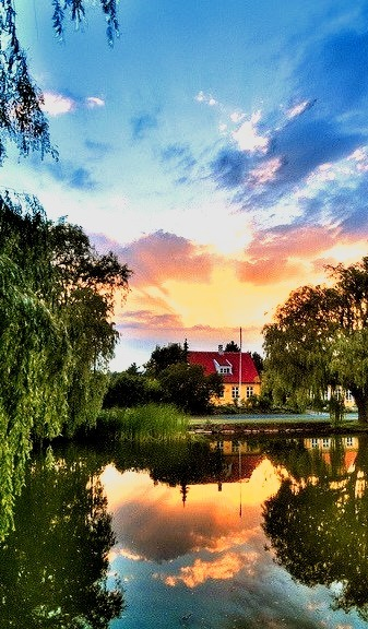 Summer Sunset, Denmark