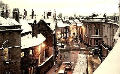Winters Day, York, England