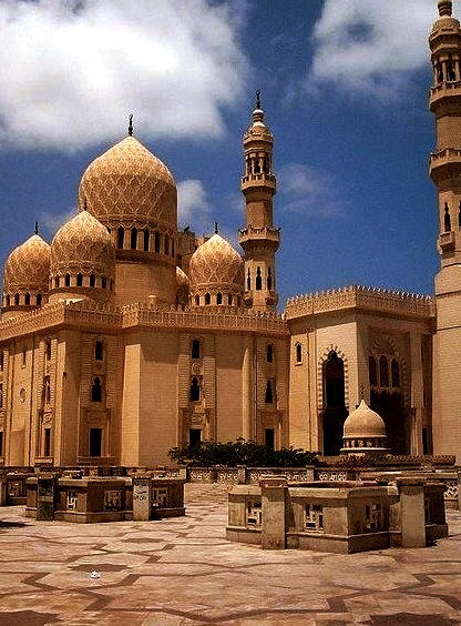 by islam.moursy on Flickr.Abu'l Abbass Mosque in Alexandria, Egypt.