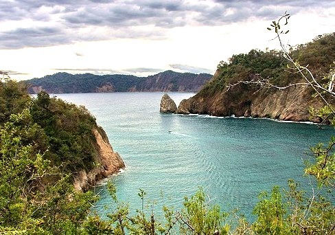 by Seb & Jen on Flickr.Tortuga Island on the Pacific coast of Costa Rica.