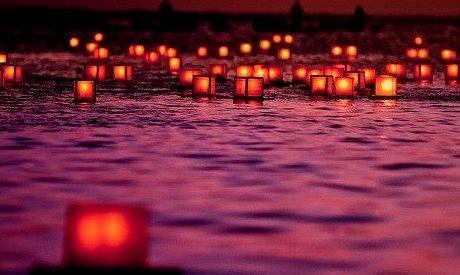 Floating Lanterns, Honolulu, Hawaii