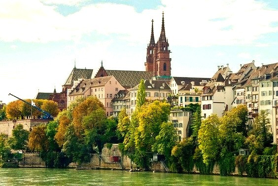 by photo-maker on Flickr.Basel - the third most populous city and one of the most important cultural centres of Switzerland.