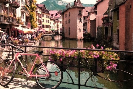 Summer Day, Annecy, France