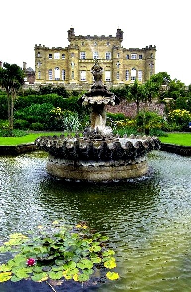 The Fountain at Culzean Castle in Ayrshire, Scotland