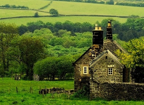 Ancient House, Derbyshire, England