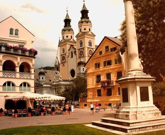 The lovely town of Bressanone , South Tyrol, Italy