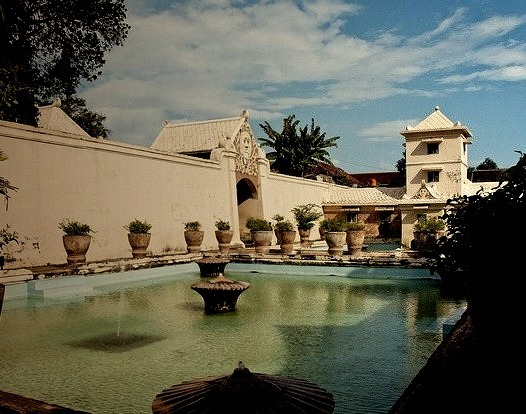 Taman Sari water palace in Yogyakarta, Indonesia