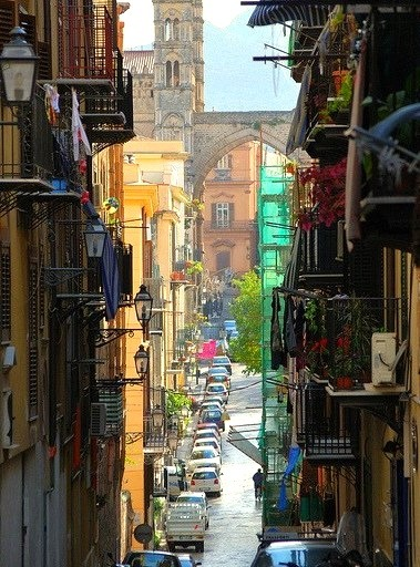 Streets of Palermo, Sicily, Italy