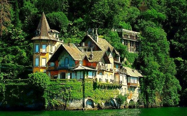 Villa on the shores of Lago di Como, Ticino Canton, Switzerland