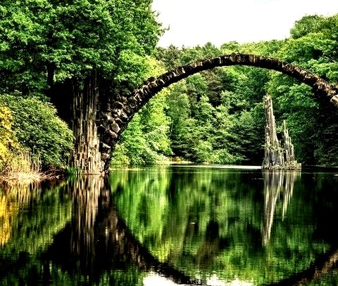 Ancient Bridge, Kolpino, Russian Federation