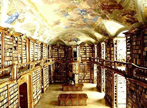 Abbey Library, St. Florian, Austria