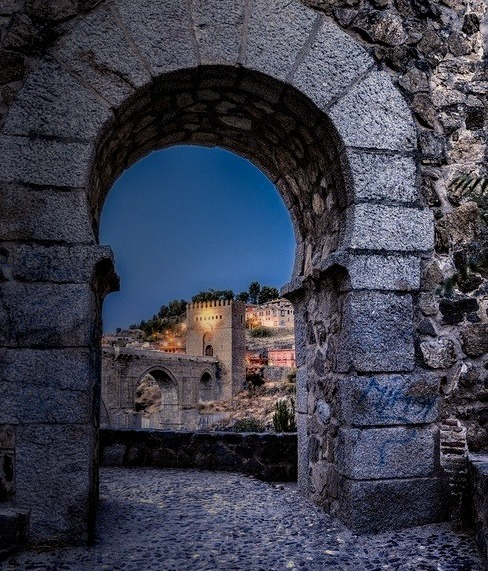 Ancient Arch, Toledo, Spain