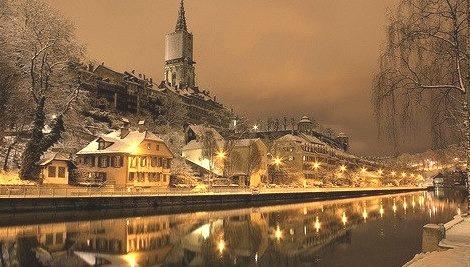 Winter's Night, Bern, Switzerland