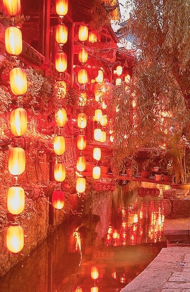 Lanterns, Lijiang, Yunnan, China