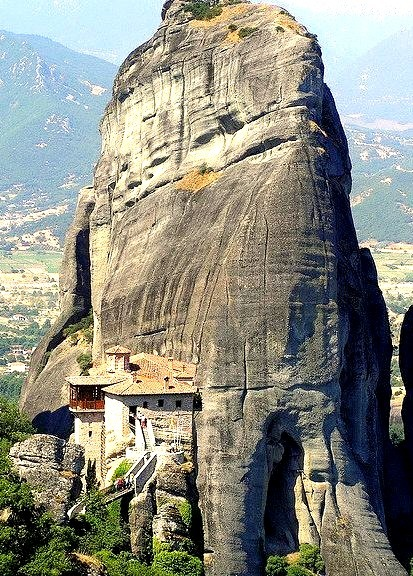 Holy Monastery of Rousanou, Meteora, Greece