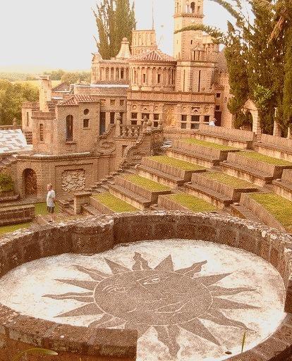 La Scarzuola Architectural Park in Umbria, Italy