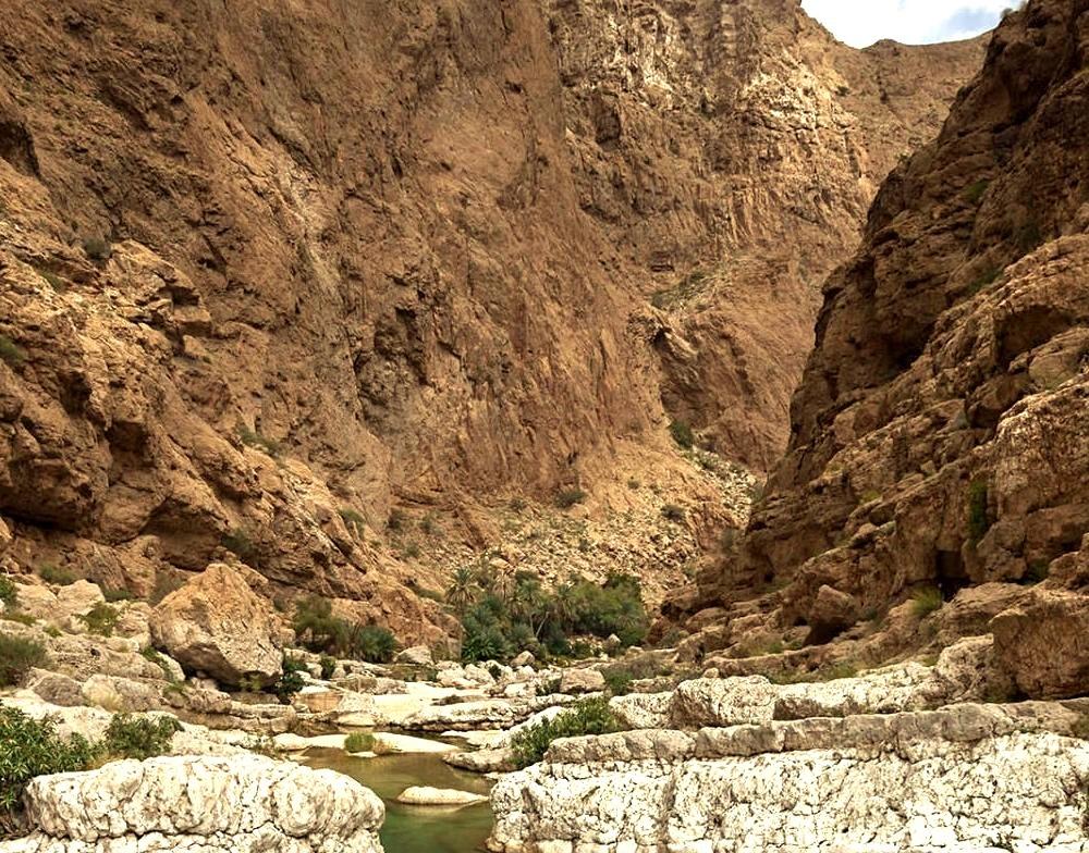 Wadi Shab Gorge / Oman